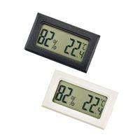 組み込みミニ室内電子温度計と湿度計シガーサーモメーターと湿度計爬虫類PETの温度計TPM-20
