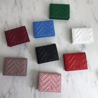 Malmont Bolsas de Embraiagem De Luxo Designer Caso de Carteira de Moda Moda Moda Moeda Bolsa De Bolsa Couro Quilted Mini Carteiras Curtas Carteiras Principais Bolsa