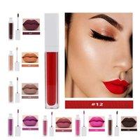 Cosmetici Venditori Lipgloss all'ingrosso Etichetta Privata Trucco Rossetti Impermeabile Labbra opaca lucido Gloss Quadrato quadrato