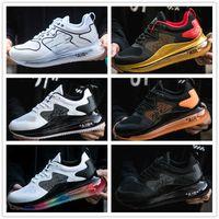 2021 Volt Black Magma 720-818 mens Sapatos de corrida 720 ISPA Metálico Bala de prata limpa Aqua CNY 720S Homens Mulheres Treinadores Sports Sneakers