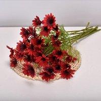 Home decoration Artificial Daisy One piece 5 heads Dutch chrysanthemum Cosmos wedding Artificial flower bouquet props flowers EEB6097