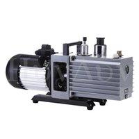 Pompa per vuoto a palette rotaria 2xz-1 Affilatante ad alta velocità a due stadi Due spedizioniere Aria condizionata Frigorifero Piccola pompa ad aria industriale Pompa olio 2XZ-2