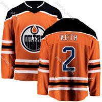 Edmonton Oilers Duncan Keith Jersey Leon Draiseaitl Tyson Barrie Connor McDavid Ryan Nugent-Hopkins Tim Soderlund Zack Kassian Jesse Puljujarvi