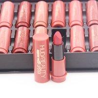 Wholesale HUDA Lipstick home High Quality Nude Cosmetic Sexy Matte Lip Color Beauty Organic Makeup 24pcs=1 set