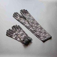 3 цвета свадебные кружевные перчатки свадебные перчатки с свадьбой для вечеринки для вечерних выпускных платьев для женщин аксессуары