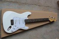 2014 New F Stratocaster 6 string yellow cream Electric Guitar !! @12