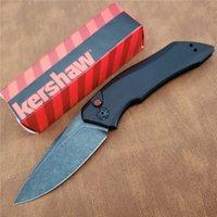 "OEM Kershaw 7100 출시 1 자동 폴더 나이프 3.4 ""CPM-154 Blackash Blade Knives, 알루미늄 핸들 7100BW 7200 7300 7500 7600 7800 7900"