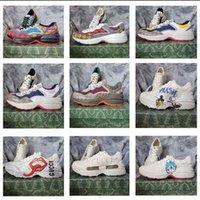 جديد هارب منخفضة حذاء منخفض عارضة أعلى حذاء مصمم منقوشة نمط منصة الكلاسيكية الجلد المدبوغ الجلود الرياضية التزلج أحذية الرجال النساء أحذية رياضية 35000