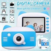 3,5 pollici HD 1080P Bambini per bambini Fumetto Bambini Digital PO giocattolo PO con MP3 Puzzle Game Regalo di compleanno per telecamere