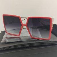 2020 Composit 30Montaigne Sunglasses Mulheres Marca Colorido Black Square Sunglasses Mulheres Futuristic Retro Sun Óculos Retangulares Homens Montaigne Óculos de Sol