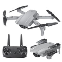 E99 PRO2 RC Mini Drone 4K 1080P Doble cámara WiFi FPV Fotografía aérea del helicóptero Quadcopter plegable Drones Toy
