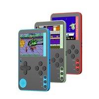 CoolBaby Taşınabilir Retro El Oyun Konsolu 500 Kart Destek 500 Destek 5 Diller Çocuk Hediye Oyuncular