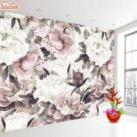 Retro Rose Zdjęcie 3D Tapety do salonu Papiery ścienne Home Decor Paper Mural Tapeta Walls Rolls Floral Papel de Parede