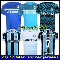 Gremio D.Costa Soccer Jerseys 2021 22 Digo Souza Kannemann Geromel Football Jersey Jean Pyerre M. Henrique Training Shirts Vest Man Women Camisa de Tricolor FBPA 21 22