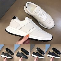 2021 Top Quality Mens P Sapatos Genuíno Couro Clássico Homem Vintage Luxe Fashion Plataforma Casual Sneakers Ao Ar Livre Treinadores Treinadores Chaussures
