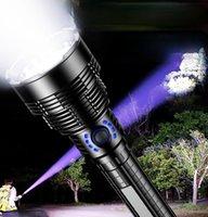 Taschenlampen Brenner tragbarer Camping langer Reichweite leistungsstarker Konvoi-Taschenlampe wiederaufladbare leichte Laternenbeleuchtung BI50FL