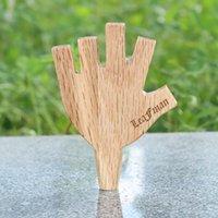102 мм Форма Palm Palm Уровень древесины 5 5 Держатель для курения Держатель для курения 8 мм Король Цветущий Доклад Упаковка Wood Tabacco