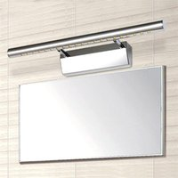 Wall Lamps Modern LED Mirror Light 3W 5W 7W Stainless Steel SMD AC 85-265V Waterproof Mounted For Indoor Bathroom Washroom