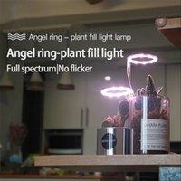 Angel Three Ring Grow Light DC5V USB Phytolamp Plants Led Full Spectrum Lamp For Indoor Plant Seedlings Home Flower Lighting