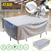 Shade Waterproof Outdoor Patio Garden Furniture Covers Rain Snow Chair For Sofa Table Dust Proof Cover