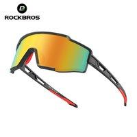 Rockbros Bisiklet Erkek Gözlük Polarize Gözlük Tam Lens Tek Parça Çerçeve Kadın Güneş Gözlüğü Bisiklet Gözlükleri