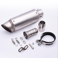 Universal 51mm 61mm Motorcycle Pipe Exhaust With DB Killer Muffler For F800GS F800GT R1200GS F 800 Gs Adventure