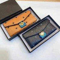 M Briefdruckdesigner Luxus Brieftaschen Karteninhaber Plaid Style Frauen Brieftasche High-End Handtaschen