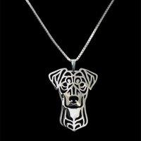 Кулон Ожерелья Мода Ювелирные Изделия Металл Немецкий Пинчер Собаки Любители Сплава Капля животных
