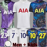 20 21 Fußball-Trikot Sporne 2020 2021 Reguilón Trikots Fußballhemd Uniformen Männer Kinder-Kits