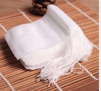 Saquinhos de chá vazio sacos de chá curar selo filtro de papel de filtro 5.5 x 7cm para erva chá solta ZHL4208