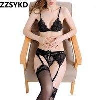 Cami Zzsykd Floral Bras Sheer Lace Sexy Lingerie Erotica Sexy per le donne Bralette Serbatoi non imbaricati Crop Top Choker biancheria intima da donna