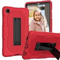 Para Samsung Galaxy Tab A7 Lite T220 T225 (2021) 3 Proteção de camada com Funções de Kickstand Funções de choque