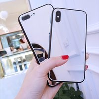 Luxury Clear Cases Makeup Mirror Phone Case For iphone 11 12 Pro XS MAX Mini XR X 7 8 6S 6 Plus SE Shockproof Soft Silicone Cover