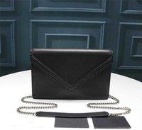 Projektant Tote Bag Marki Crossbody Mini Luxurys Torby Torebka Zuolan 511262 Lady's Flap S z Chian Prawdziwą Prawdziwą Skórzaną Wiadrem One Sho
