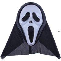 14 Styles Skeleton Horror Mask Halloween Crack Skull Scream Masquerade Masks Adult Full Face Retro Party HHE9242