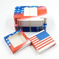 False eyelash packaging Square paper box many styles and colors for option lash cases 25 mm mink eyelashe with tray packing separately super quality