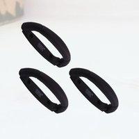 3 piezas de batería de litio caja de plástico mango solar mango plegable negro (negro) tirones