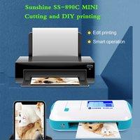 Sunshine SS-890C Mini Cloud Film Cutting Machine DIY Printing Mobile Phone Screen Protector Cutter Hydrogel Sheet Cut Tool