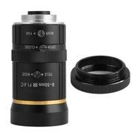 렌즈 8-50mm 3MP 1/2 수동 조리개 C- 마운트 보안 카메라 CCTV DE VIGILANCIA 대부분의 줌 카메라 용