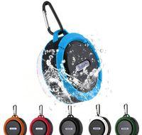 C6 Portable Wireless Mini Bluetooth Speaker Waterproof Subwoofer Bluetooth Sound Box Speakerphone TF Card Handsfree Shower Speaker