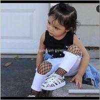 & Summer Kids Clothing Girls Fishnet Tights Children Holes Fashion Socks Leggings Colors 3 Sizes 907 V2 Vfnfs Mvfxv