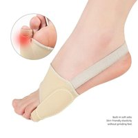 Bunion Corrector Gel Pad Barella Nylon Hallux Valgus Protector Guard Punta Separatore Separatore Ortopedico Straightener Foot Assistenza per la caviglia