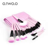 Makeup Brushes O.TWO.O 32 Pcs  Bag Tool Set Cosmetic Powder Eye Shadow Foundation Blush Blending Beauty Make Up Brush Maquiagem