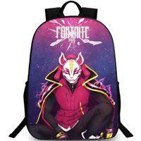 Stylish backpack Drift day pack Fox mask player Satchel Game school bag packsack Photo rucksack Sport schoolbag Outdoor daypack