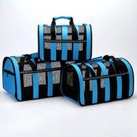 Soft-sided Travel Carrier Portable Pet Dog Airline Bags Mesh Window Travelling Carrying Bag for Small Medium S M L