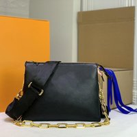 Bolsa Luxurys Bags Branded Crossbody Mini Designer Sacola Mulheres Mensageiro Monogramas Embossing Coussin Small Shou