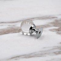 20 мм 25 мм 30 мм 40 мм Стеклянные шариковые ящики шкафные ручки тянет серебряный хромированный хрустальный шар комод дверные ручки Qylapi dh_seller 485 v2