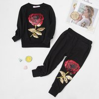 Dropship Girls Clothing Sets Autumn Spring Toddler Girls Clothes Kids Tracksuit For Girl Suit Costume Children's Clothing 3 6 7 Year 051101