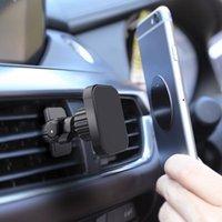 Soporte de soporte de soporte de teléfono celular Fimilef Holder Magnético para el soporte móvil universal Montaje de ventilación de aire GPS