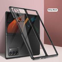 Şeffaf Kaplama PC Sert Telefon Kapak için Samsung Galaxy Z Katlama 2 5g Durumda Anti Parmak Izi Darbeye Dayanıklı Koruyucu Funta